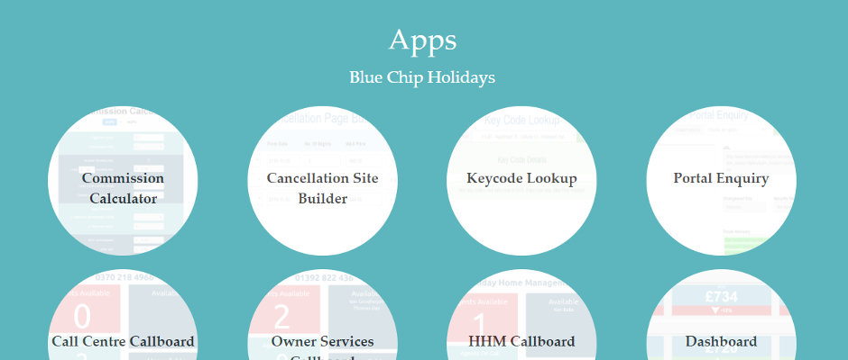 Blue Chip Holidays Apps