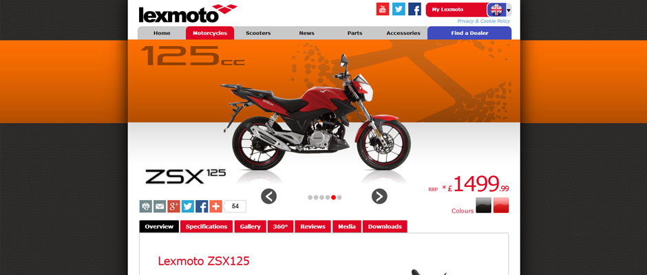Lexmoto built from scratch using PHP5, HTML5, CSS3 & jQuery